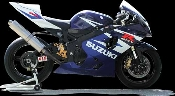GSXR600 04-05 Sato Racing Full Ti Exhaust System