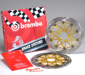 Brembo HP Supersport Full Floater Rotors Ducati