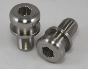 Titanium bar end weight with CRG Groove for Ducati Panigale