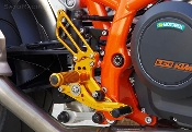 Sato Racing Rear Sets KTM 690 Duke 2012+