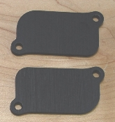 Kyle Racing RC51 smog block off plates 2000-2006
