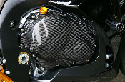 Sato Racing Carbon Fiber Engine Cover Right Side GSXR1000 09+