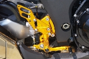 Z1000 2010+ Sato Racing Rear Sets