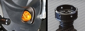 Sato Racing Round Oil Fill Cap for FZ-09